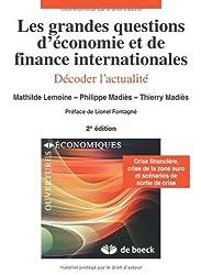 Les grandes questions d'économie et finance internationales : Décoder l'actualité