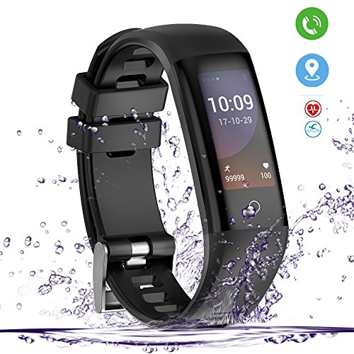 Yakuin Smartwatch,Fitness Tracker,Waterproof IP67,Heart Rate Monitor, Blood Pressure,Sleep Monitor,Calorie Burned for iOS Android