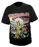 Collectors Mine Herren T-Shirt Iron Maiden-Killers Cover, Schwarz (Black), XL / 52