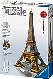Ravensburger 12556 Eiffel Tower 216 Pieces 3D Jigsaw Puzzle