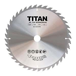 Titan TCT Kreissägeblatt 40T 305x 20/25/30mm