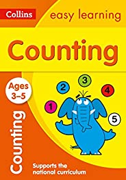 Counting Ages 3-5: Collins Easy Learning (Collins Easy Learning Preschool)