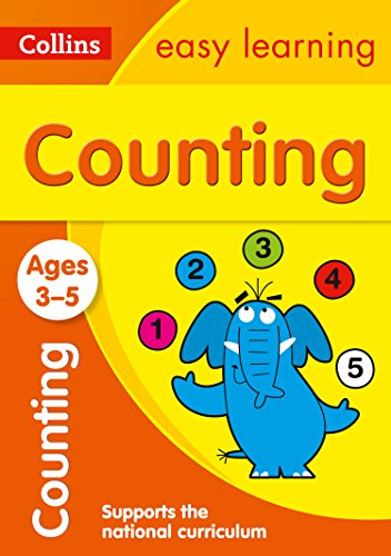 Counting Ages 3-5: New Edition (Collins Easy Learning Preschool) por Collins Easy Learning