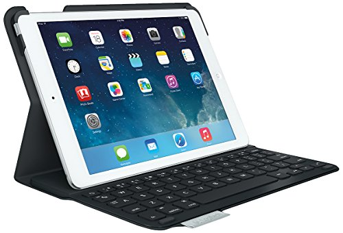Logitech Ultrathin Keyboard Folio - Funda con teclado para Apple iPad Air, negro - QWERTY Español