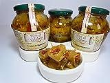 Involtini di Melanzane Sottolio con pomodori secchi, capperi e olive , Prodotti Tipici Calabresi Senza Coloranti, Antipasto Calabria