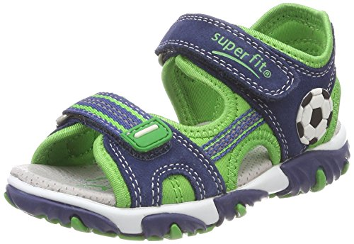 Superfit Jungen Mike 2 Sandalen, Blau (Water Kombi), 26 EU