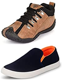 Maddy Perfect Men's Combo Pack of 2 Casual Shoes