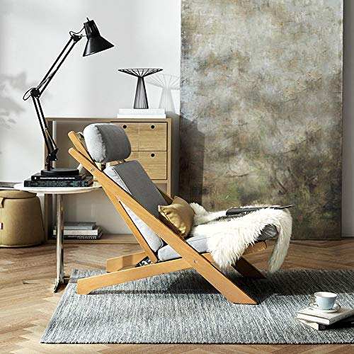 ZY YZ Schlafsaal-Bett-Stuhl, Student-fauler Stuhl, College-Schlafsaal-Artifakt-Arbeitszimmer-Raum-Wohnzimmer-justierbarer Aufenthaltsraum-Stuhl-Entspannung-Freizeit-Liegesofa