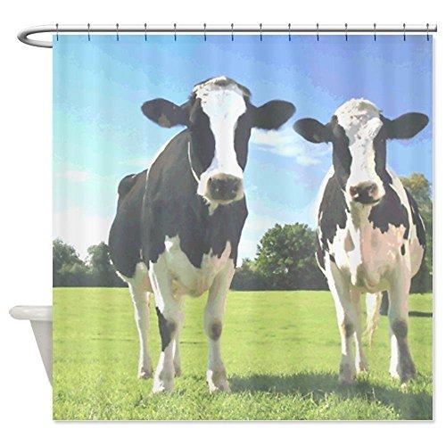 Kühe viele schöne Duschvorhänge zur Auswahl, hochwertige Qualität, Wasserdicht, Anti-Schimmel-Effekt 180 x 200 cm (Halloween Schwarze Katze Silhouette Muster)