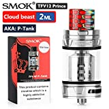 Official SMOK TFV12 Prince Tank (P-Tank 2ml) Atomiser for E Cigarettes, Sub Ohm