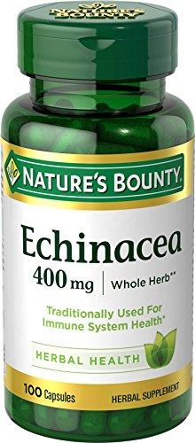 Nature's Bounty Verde-Echinacea Integratore Alimentare 100 Capsule