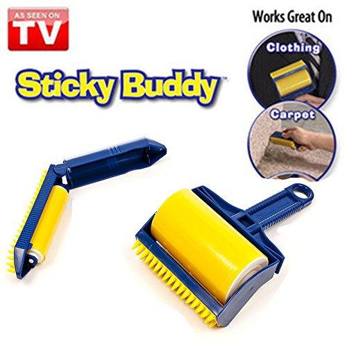 LTQ&QING ltq & (2), Qing TV-Sticky Buddy Waschen Staub-Roller-elastische Material mit Haarbürste Multifunktionale collector-dog mit Staub-& Haarentferner für Couch, Teppich, (Hund Haustier Abfall-entsorgung)