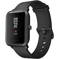 Amazfit Bip Smartwatch Pulsmesser GPS Fitness Aktivität Tracker Schrittzähler Wasserdicht International Version Black