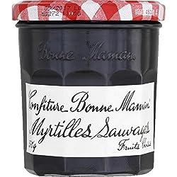 Bonne Maman - Confiture De Myrtilles Sauvages, Fruits Choisis - Le Pot De 370g - Price Per Unit