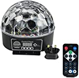 Kaleep LED RGB Crystal Magic Effect Ball light DMX Disco DJ Stage Lighting Play and UK Plug