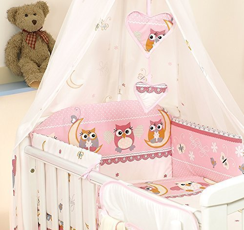 10-Pcs-juego-de-ropa-de-cama-para-cuna-de-beb-cama-edredn-dosel-soporte