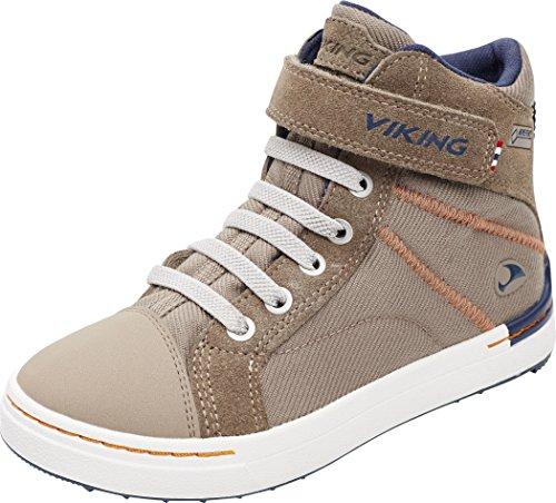 Viking Footwear Sagene Mid GTX - Chaussures Enfant - Beige 2017