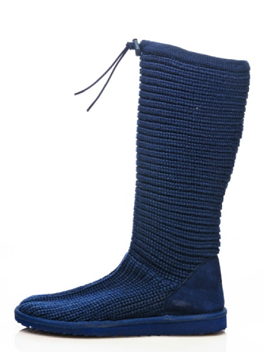 Stiefel - 4249-knitsuew Navy