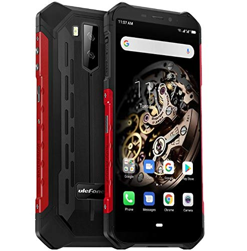 Ulefone Armor X5 - 4G Outdoor Smartphone Ohne Vertrag, MTK6763 Octa-Core 3GB RAM 32GB ROM, Android 9.0 5.5