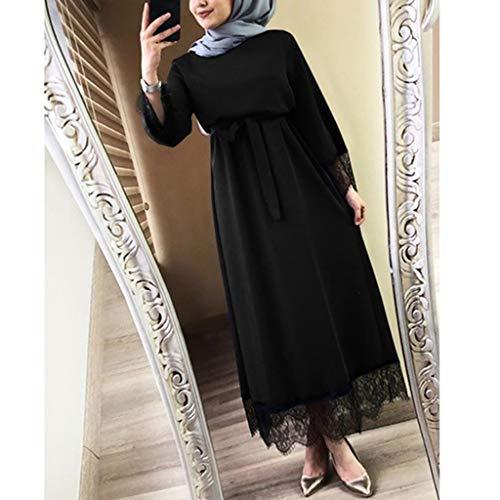 Mitlfuny Indian Muslim Islamic Arab Abaya Jilbab Middle Eastern Ramadan,Vestidos Frauen 2019 Abaya Dubai Ramadan Kaftan Marokkanisches Moslemkleid Türkisch