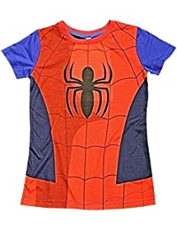 Spider-Man Childrens T-Shirt Official Marvel Avengers Kids Costume Clothing (2-3 Years, Spider-Man)