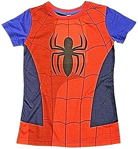 Iron Man T-shirt Costume - Enfants Cape T-Shirts Super héros Costume Pour