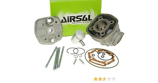 Airsal Zylinderkit Sport Grauguss 50ccm Für Derbi Piaggio D50b0 Auto