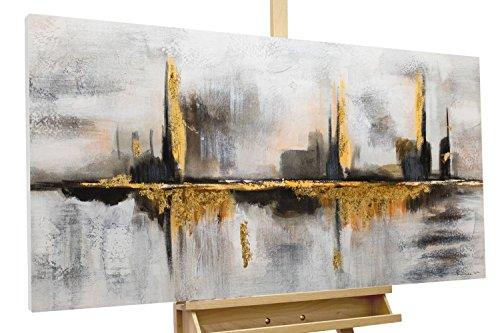 Kunstloft Cuadro acrílico 'Oráculo' 120x60cm | Original