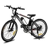 Kaimus E-Bike Elektrofahrrad MTB 26 Zoll Mountainbike, 36V 250W mit Große Kapazität Lithium Elektrisches Gebirgsfahrrad Abnehmbarer Rahmen Akku,21-Gang Shimano Zahnrad