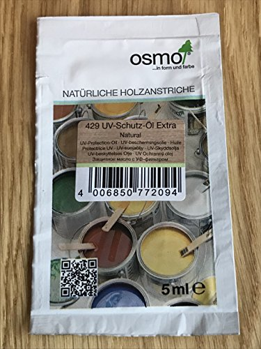 Huile Osmo 429 - Protection contre les UV - Sachet échantillon de 5 ml