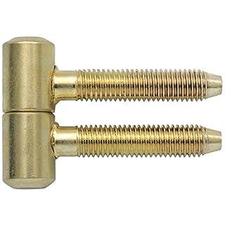 SECOTEC V105A033S072 Einbohrband zweiteilig Anuba 11 mm vermessingt 2 Paar