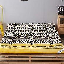 HM&DX Reversible Futón Colchón Suelo Tatami, Acolchado Antiescaras Colchón Topper Dormitorioir Mat para Dormitorio Alcoba