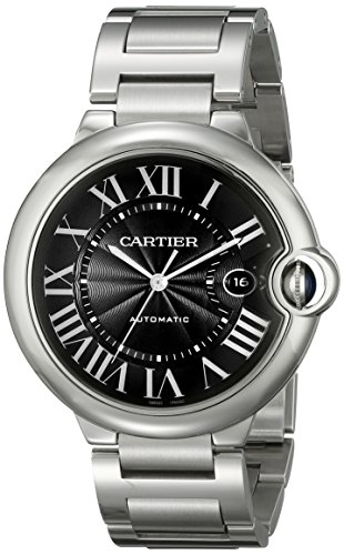 Cartier Men's W6920042 Ballon Bleu Analog Display Automatic Self Wind Silver Watch