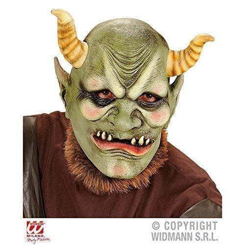 Orc Maske - Lively Moments Latexmaske Evil ORC /