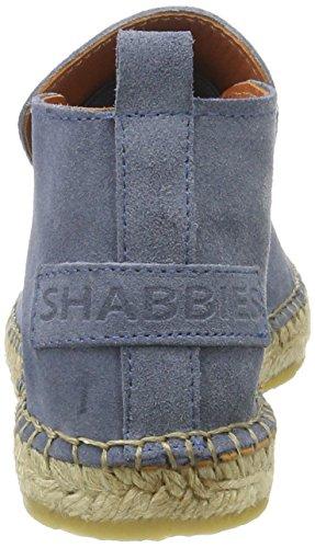Shabbies Amsterdam Shabbies Espandrilles Slipper, Espadrilles femme Bleu jean