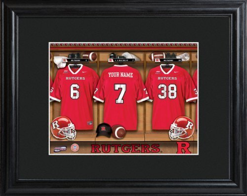 college-with-wood-frame-rutgers-scarlet-knights-football-locker-room-print