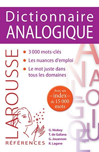 Dictionnaire analogique by Georges Niobey (2015-01-07)