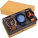 Dazzle Combo of 3 analog watches-DL-3CMB...