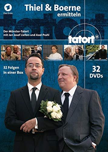 Münster - Thiel und Boerne ermitteln: Fall 1-32 (32 DVDs)