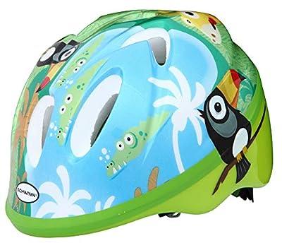 Schwinn Boys Jungle Infant Helmet, Green and Blue, XXS by Pacific Cycle