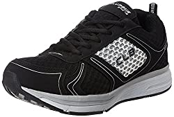 Columbus Mens Black and Grey Running Shoes - 7 UK/India (41 EU)(ROME)