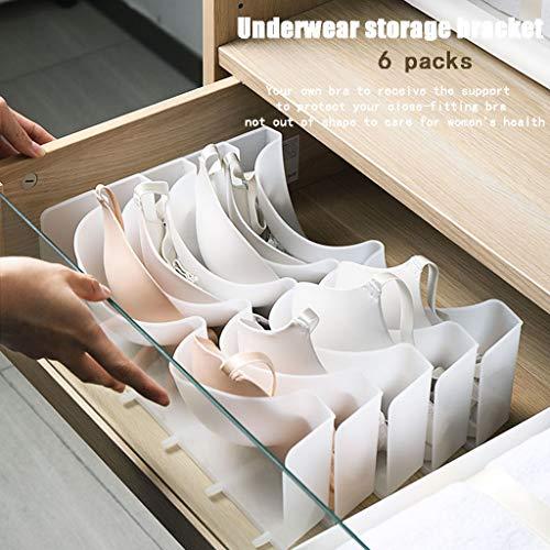 Kürbis Tool Box - TianranRT❤Aufbewahrungsbox für Unterwäsche, Packung mit 6