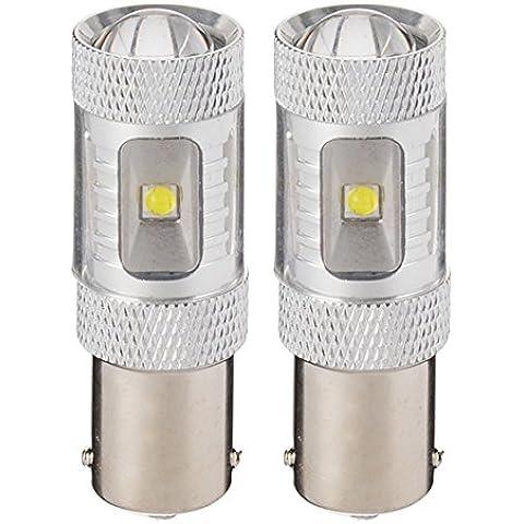 2pcs 12V 30W 6SMD LED Rear Tail lightbulb Auto Luci di posteriore Car Tail backup lightbulb MA261