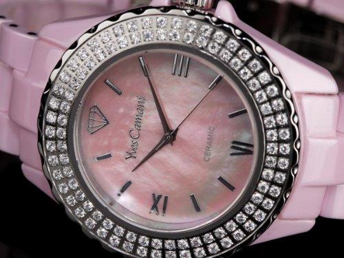 Yves Camani Damen-Armbanduhr Yves Camani Damenuhr Nancy Pink Analog Quarz YC1011-A - 3