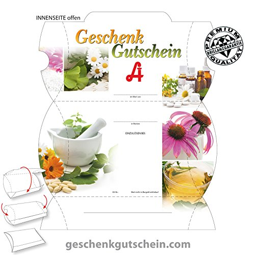 25 Stk. Premium Gutschein Boxen für österreichische Apotheken AP302A, LIEFERZEIT 2 bis 4 Werktage !