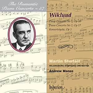 Wiklund: Romantic Piano Concerto Vol.57 [Hyperion: CDA67828]