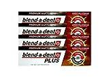 4 x 40g blend-a-dent PLUS Premium Haftcreme - Geschmacksneutral - Duokraft