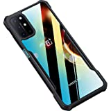 Amozo Shockproof Transparent Bumper 360 Degree Camera Protection Case Cover for OnePlus 8T