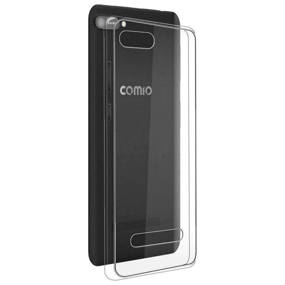 buy popular d5ec2 827ac YuBingo Back Cover for Comio C1 (360 Degree, Mobile Case ...