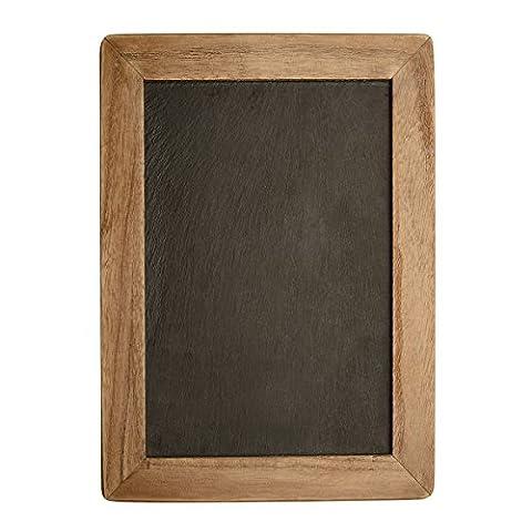 versachalk Vintage encadrée de cuisine ardoise Tableau Noir Craie Décoratif pour Mariage rustique Signs, cuisine & alimentaires Décoration Murale Noir - 14 X 10